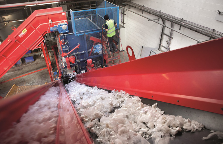 Europe's largest polythene film recycler