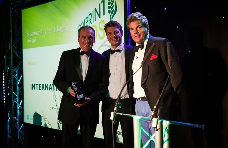 Pioneering food bucket wins prestigious industry award