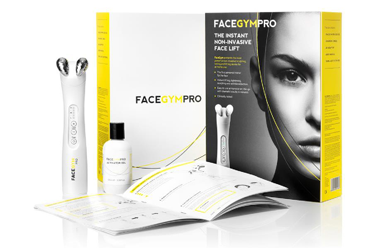 Bridge Media packaging perfect for FaceGym, the beauty brand of the moment