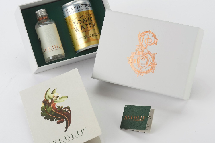Bridge Media produces stylish packaging for World's first non-alcoholic spirit