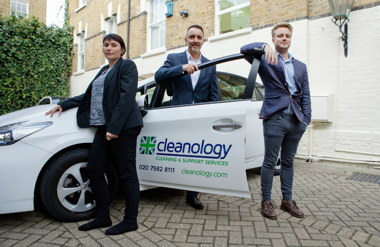 New sales team see window of opportunity at Cleanology
