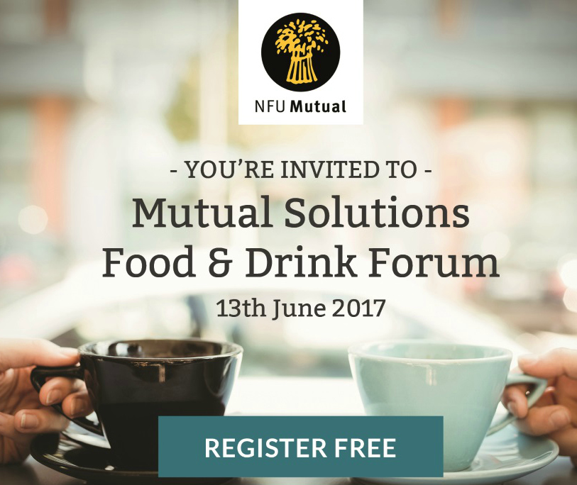 Book Your Free Place at NFU Mutual's 'Food and Drink Forum'