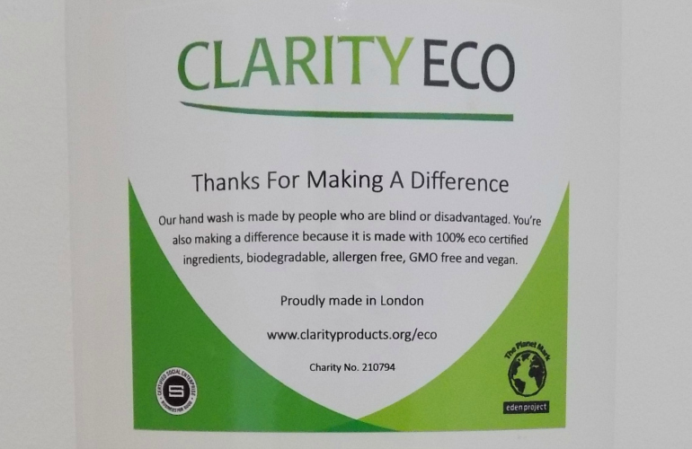 Social Enterprise launches new eco-foaming hand wash