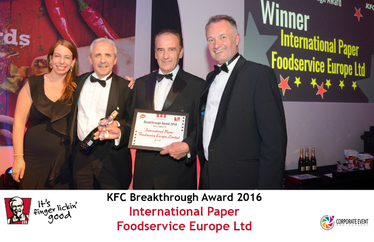 KFC food bucket wins further award for International Paper Foodservice Europe