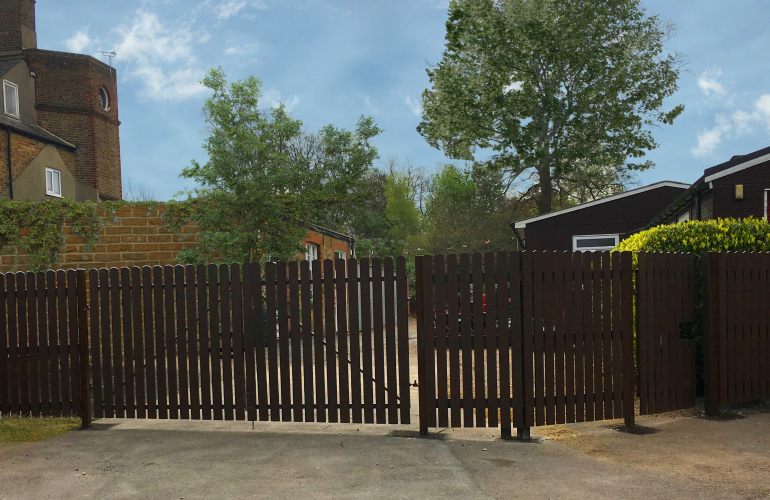 Plaswood launches gates to complement extensive fencing range