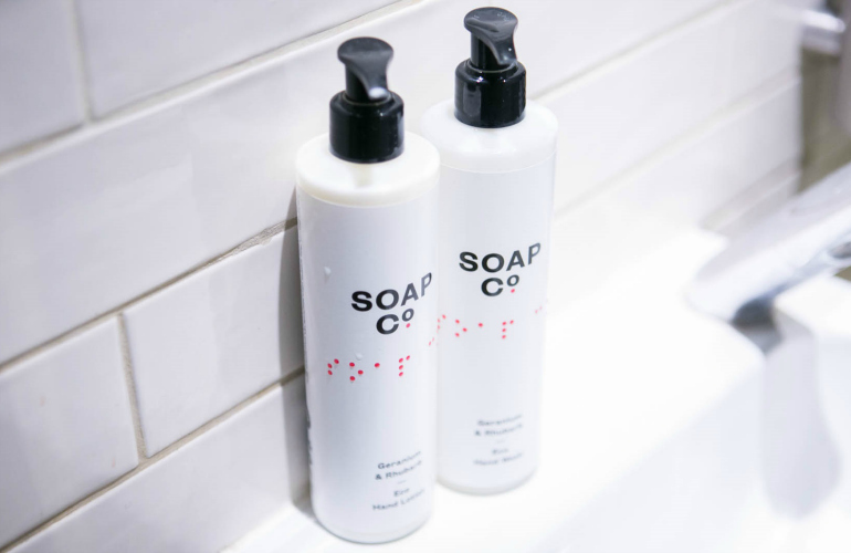 The Soap Co. launches new eco and bee-friendly ethical luxury hand and body care collection