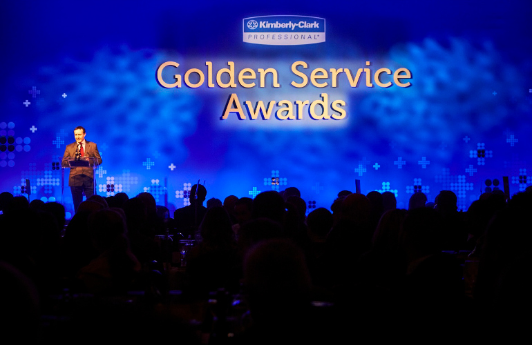 Cleaning Industry Stars Shine Bright at 2018 Kimberly-Clark Professional* Golden Service Awards