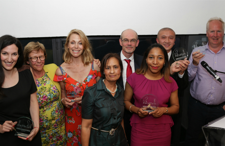 Finalists announced for The FoodTalk Awards 2018