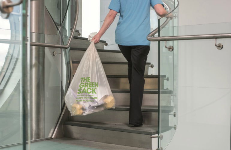 Leaders in sustainable refuse sacks at The Manchester Cleaning Show