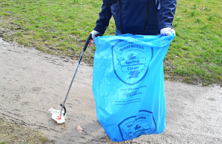 Keeping the Great British Spring Clean Sustainable