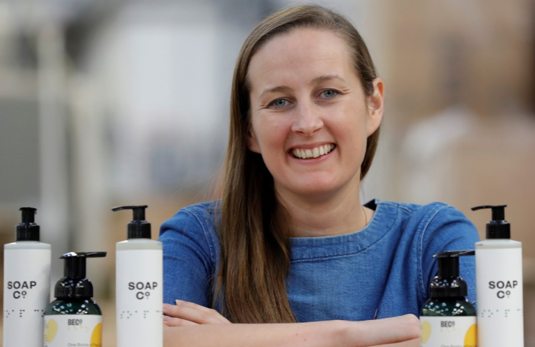 The female social enterprise entrepreneur bringing social change to the cleaning industry