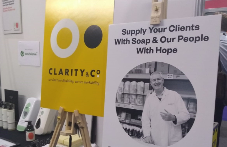 Social enterprise, CLARITY & Co. helps bring products with purpose  to the cleaning & hygiene sector