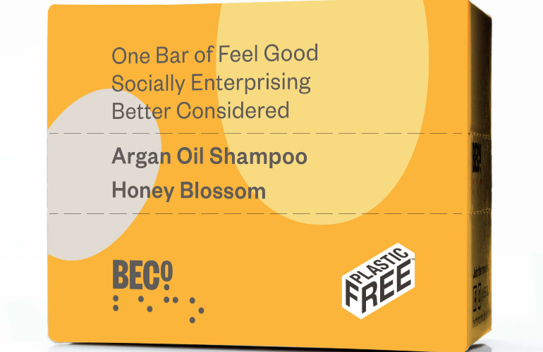 BECO. Shampoo Bar from social enterprise, CLARITY & Co., a first for Waitrose