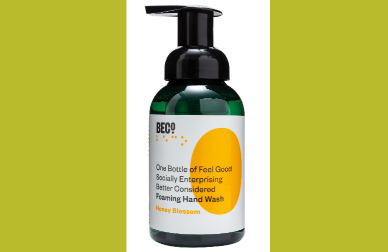 Social enterprise's BECO. eco-ethical foaming hand wash now in Boots UK stores and business washrooms