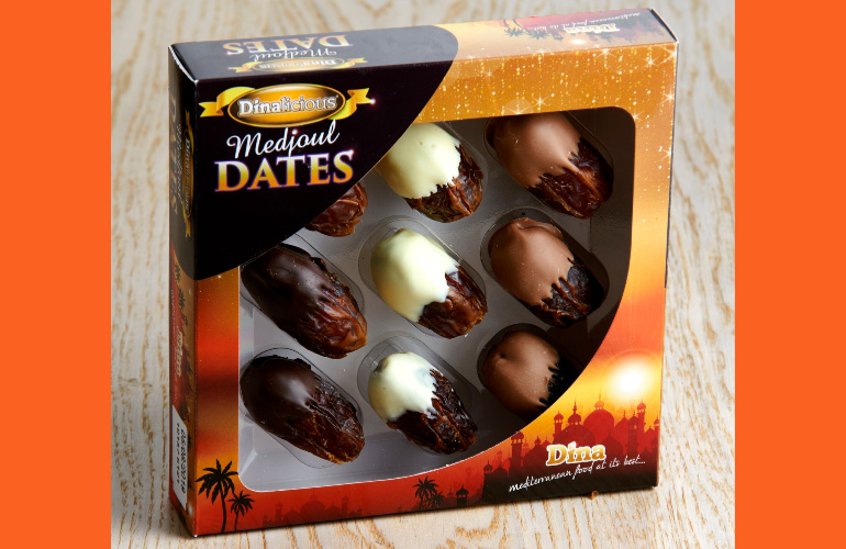 Dina Foods has Dinalicious Dates Wrapped Up