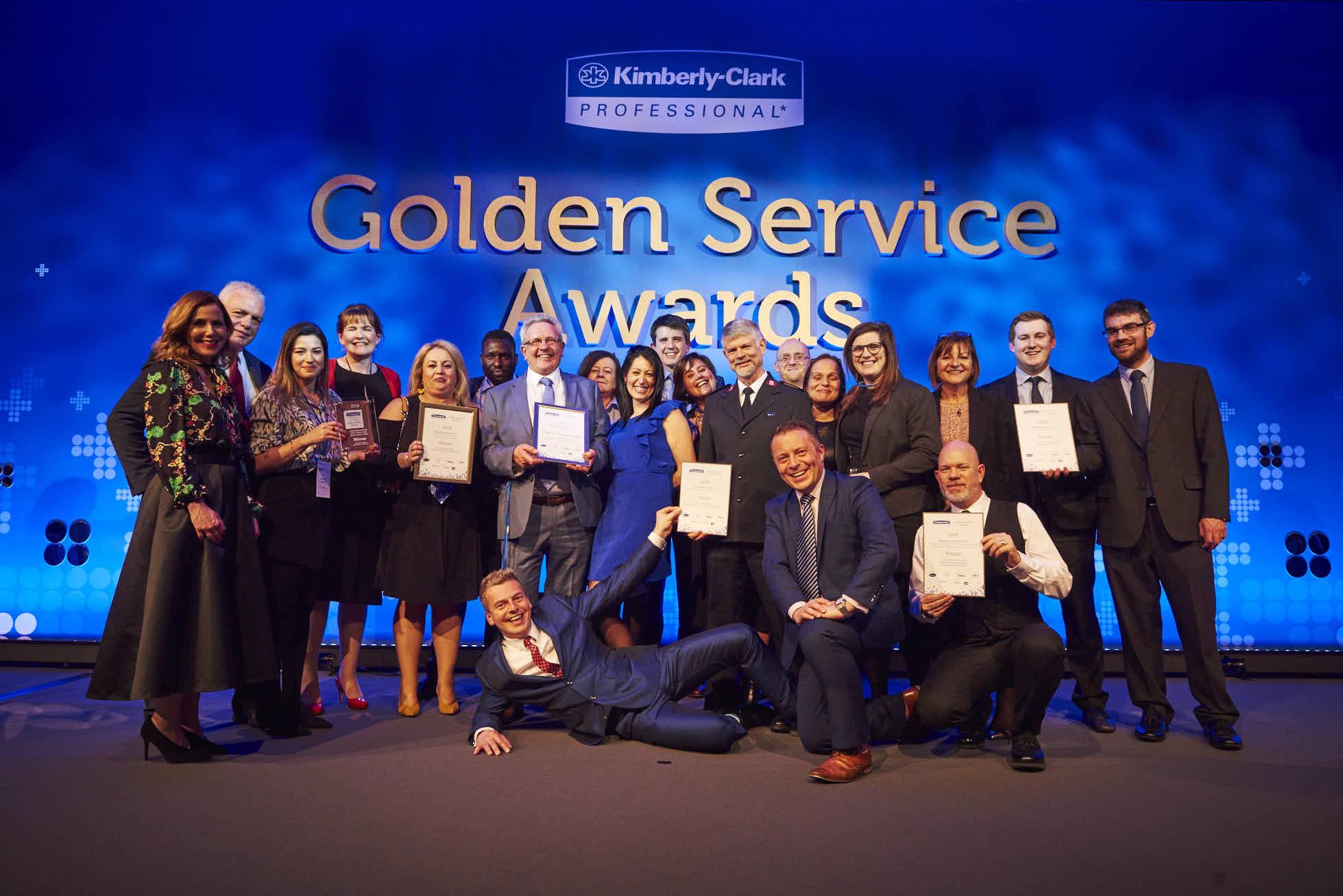 The Kimberly-Clark Professional Golden Service Awards 2018