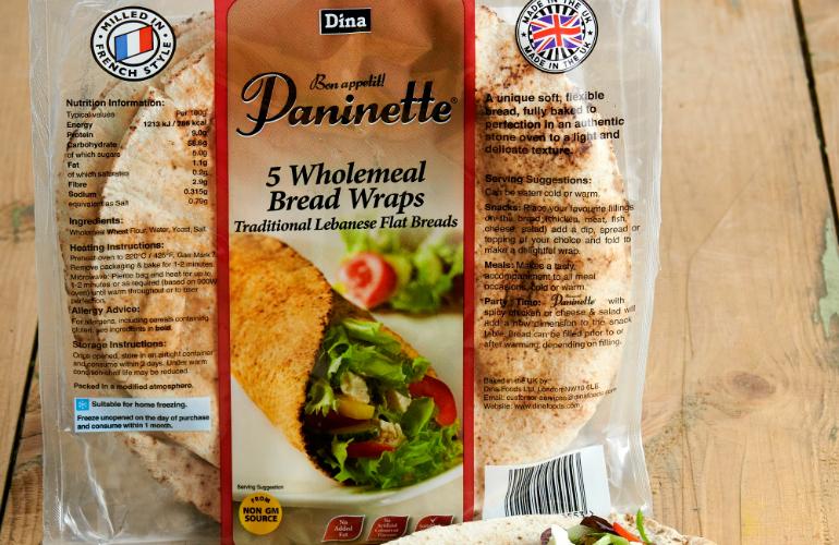 Dina Foods' Exclusive Paninette®