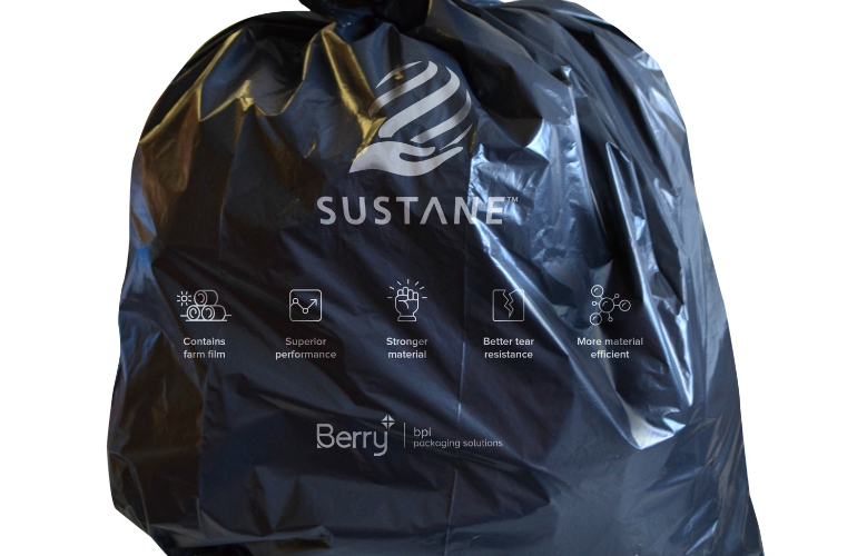 Sustane: The sustainable multi-layer refuse sack makes its debut at The Cleaning Show