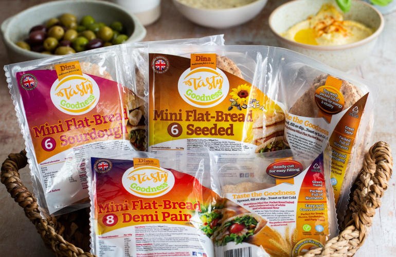 Tasty Goodness® all the way from Dina Foods