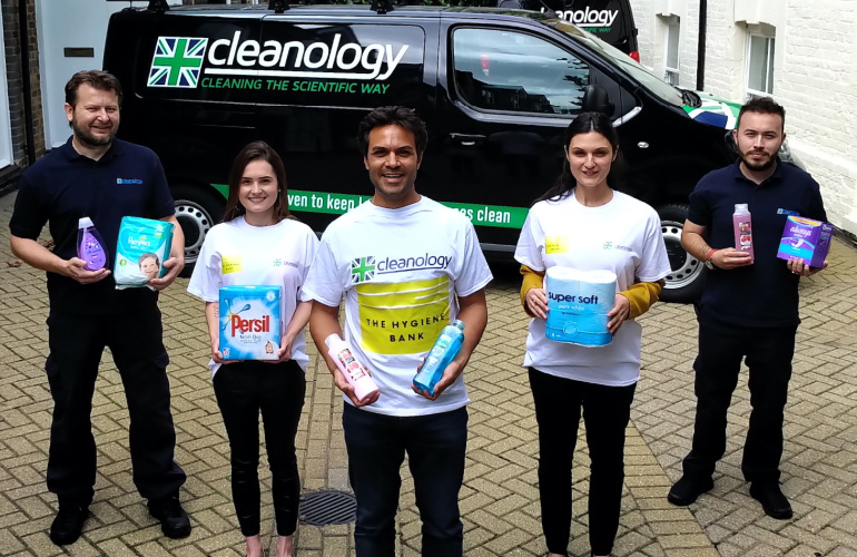 Cleanology gives 20,000 people the chance to alleviate hygiene poverty